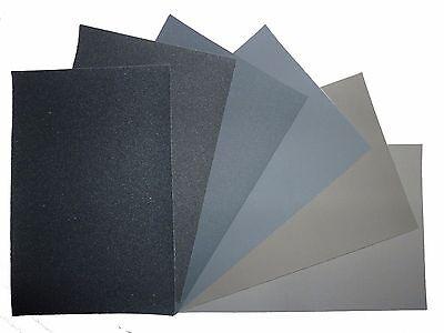 "Micro-Mesh Regular - Abrasive Polishing Cloth Kit - 6 Sheets of 6""x4"""
