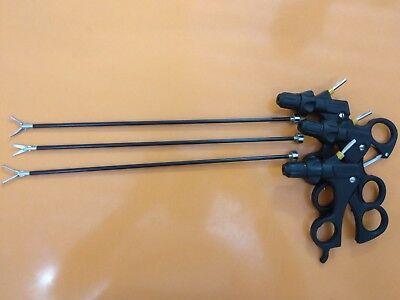 Laparoscopic Maryland Scissor Fenestrated Training Set Basic Instrument 5mmx33cm