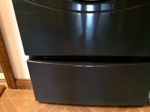 GE charcoal pedestal for washer or dryer