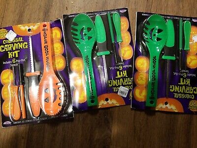 Pumkin Carving Kit (Pumkin Carving Kits 3 Holloween)