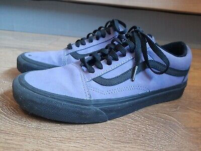 Vans Purple Suede Old Skool Skate Shoes Sneakers Size 6.5