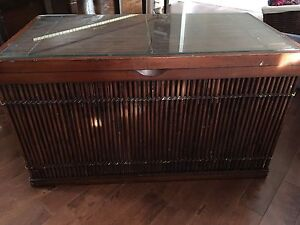 Pier One Blanket Box/Coffee Table