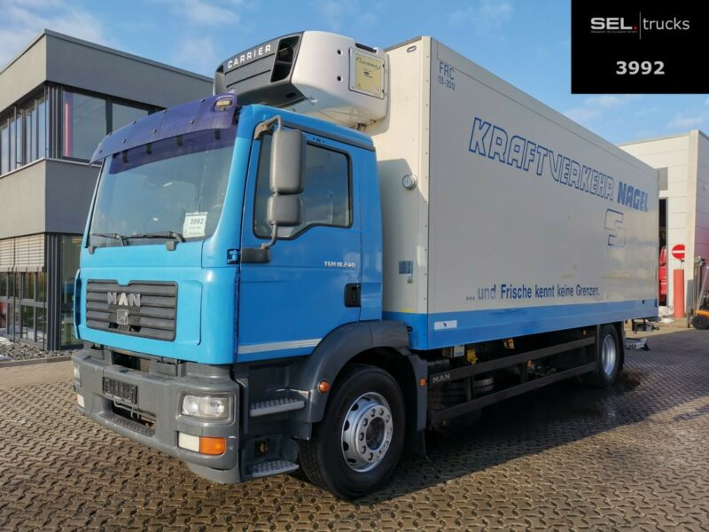 MAN TGM 18.240 4x2 BL / Carrier Supra 750 /Ladebordw