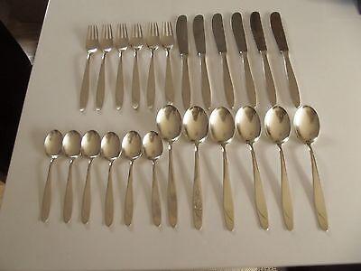 24 teiliges Besteck-Set Komplett-Besteck für 6 Personen, Silber 800 SGS Görlitz