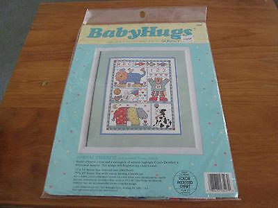 BABY HUGS CROSS STITCH BABY'S FRIENDS KIT ANIMAL Friends (Baby Hugs Baby Animals)