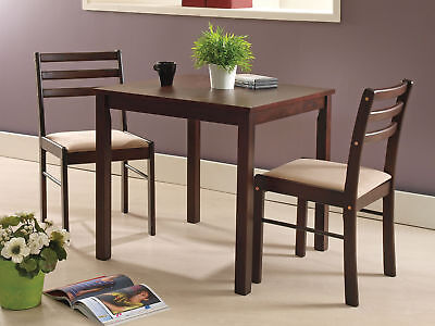 - Kings Brand Furniture -3 Piece Dining Room Kitchen Dinette Set, Table & 2 Chairs