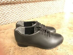 Boys Real Leather Flats Tap Dance Shoes