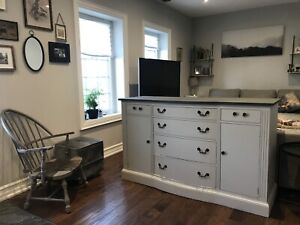 Free Delivery- Antique Buffet/Tv Credenza