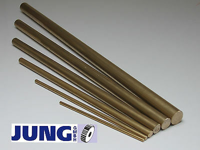 Bild von Messing Rundstange ms58 Rundstab 10-340€ D=4-40mm L=50-1000mm Rundmaterial
