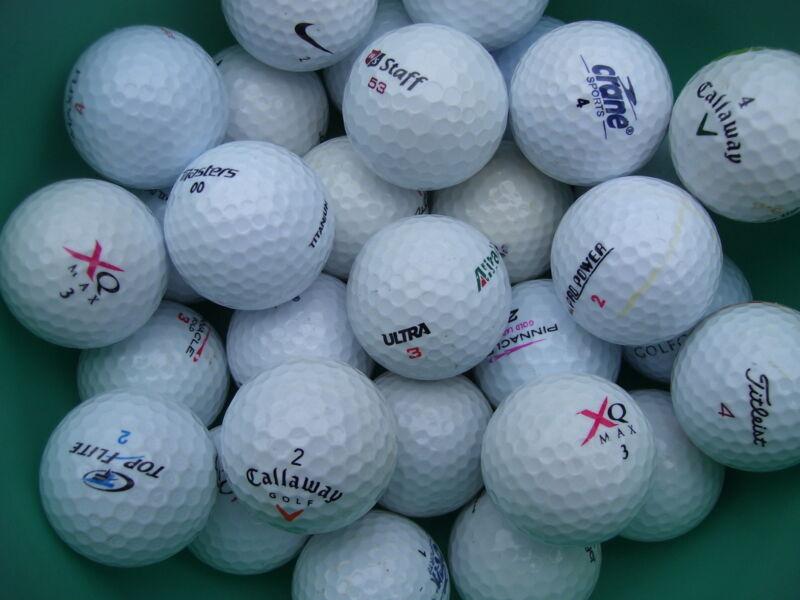 100 Golfbälle im Mix AAAA-AAA  Top
