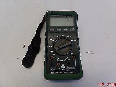 Greenlee Dm-210a Dmm1kv Acdccaptempdm-210a