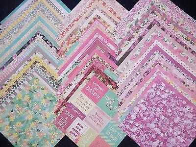 12x12 Scrapbook Paper Wild Flower Floral Garden Mom Spring 60 lot Recollections (Floral Scrapbook Paper)