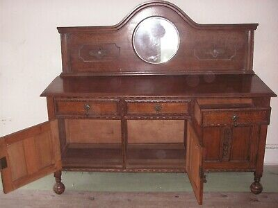 Edwardian Mirror back Sideboard