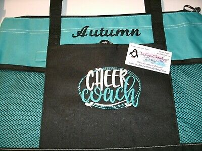 Cheer Coach Personalized Tote Bag Cheer Coach Bag