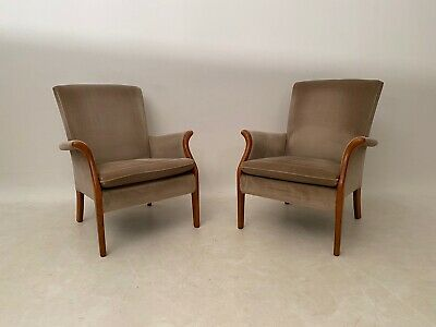 Pair Of Parker Knoll Arm Chairs Model Pk 749 - 1014