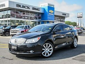 2010 Buick LaCrosse CXS- LEATHER, DUAL SUNROOF, TOTALLY LOADED*
