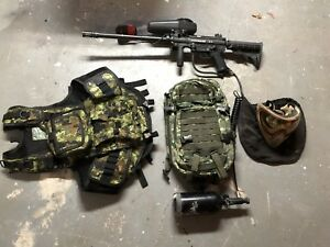 Full paintball gear for sale ** NEWPRICE**