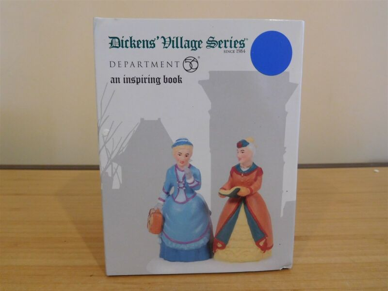 Dept 56 Dickens Village - An Inspiring Book - NIB - Free Shipping