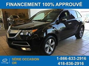 Acura MDX Traction Intégrale,**7passagers**v6-3.7l 2012