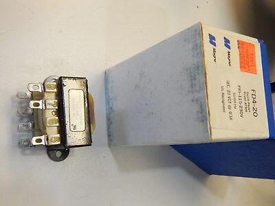 Triad Fd4-20 Transformer Pri 115230v Secondary 20vct 0.3a