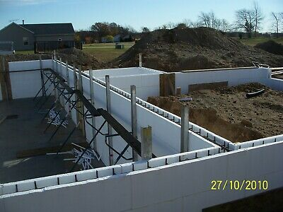 Belco Insulated Concrete Forms-5 Or 7-build Your Energy Efficient Dream Home