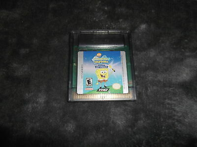 SpongeBob SquarePants: Legend of the Lost Spatula Game Boy Color