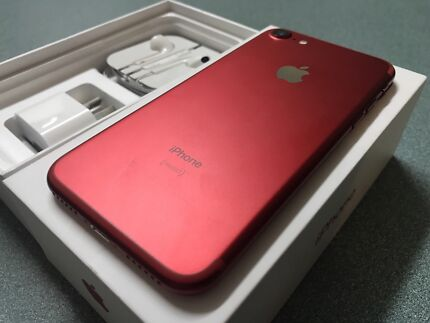 256 gb iPhone 7 red limited edition