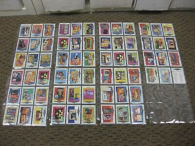 1993 CLASSIC TOYS TRADING CARD SET - COMPLETE SET OF ALL 66 CARDS! Classic Toys Trading Cards