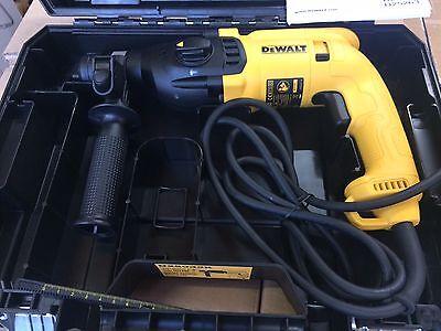 DeWalt D25033K 110v 3-Mode SDS Plus Rotary Hammer Drill / Chiseller + Case