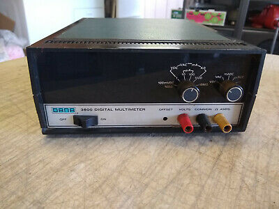Vintage Dana 3800 Bench Top Digital Multimeter