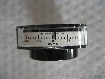 1 X Nos Nib Intl Instruments 1120 Edgewise Panel Meter 250-0-250 Dc Milliamps