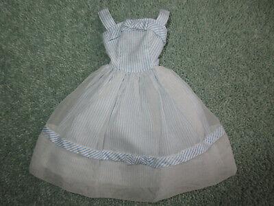 """Vintage 1962-1963 Mattel Barbie Clothes """"Movie Date"""" #933 Dress"""