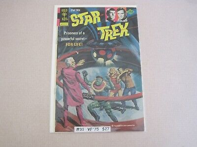 Star Trek #31 (1975) Gold Key FN Condition CGC Worthy VT3B