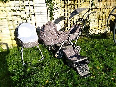 Mamas And Papas Ultima Duette Twin Pram Buggy Travel System Cot RRP £1329+ for sale  Shipping to South Africa
