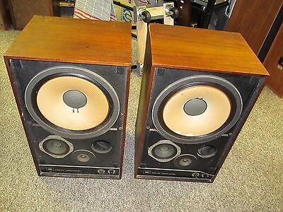 Pair JBL Professional Series Model 4310wx Control Room Monitors Speakers
