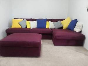 Brand New Ikea Sofa 2 setas + 1 chaise longue + 1 footstool $500 Lane Cove North Lane Cove Area Preview