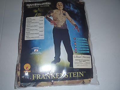 Frankenstein Halloween Costume Adult Mens Scary Monster Van Helsing Slayer ()