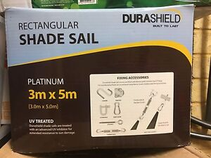 BRAND NEW DURASHIELD 3m x 5m shade sail Landsdale Wanneroo Area Preview