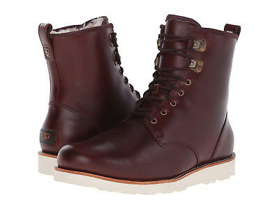 NEW UGG MEN BOOT HANNEN TL CORDOVAN LEATHER WEATHER RATED 20°C WATERPROOF 8142
