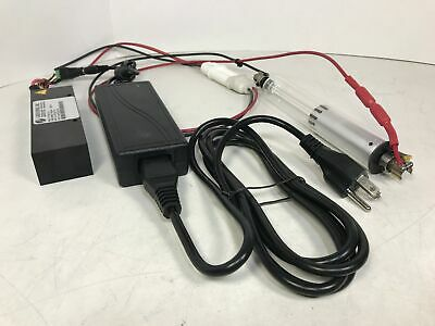 Helium Neon Laser System Glass Tube 3.3mw 632.8nm Hene 1.25 Dia X 9 W Psu