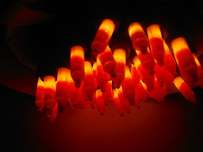 HALLOWEEN 50 CANDY CORN LIGHTS.MOST POPULAR HALLOWEEN LIGHTS (SMART BULB - Halloween Candy Popular