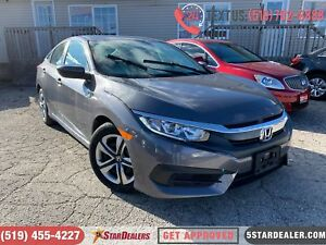 2017 Honda Civic LX | CAM | HEATED SEATS
