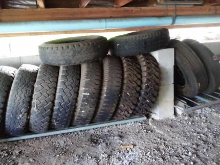 "Free Tyres 16"" light truck"