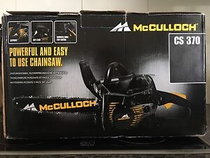 McCulloch CS 370 chainsaw Newcastle Newcastle Area Preview