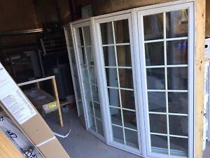 Bow Windows 5 sections full aluminium intérieur et extérieur