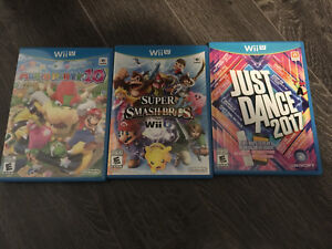 Wiiu games for sale