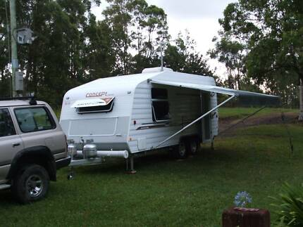 2008 Concept Ascot XLS 17' internal, great condition, rarely used