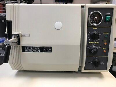 Tuttnauer 2340m Steam Sterilizer Autoclave 220v