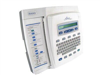 Burdick Atria 3100 Interpretive Ecg-ekg Electrocardiogram Machine Backlit Lcd