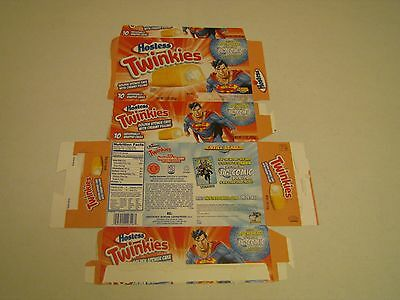 Hostess  Pre Bankruptcy Interstate Brands  Twinkies Superman Collectible Box